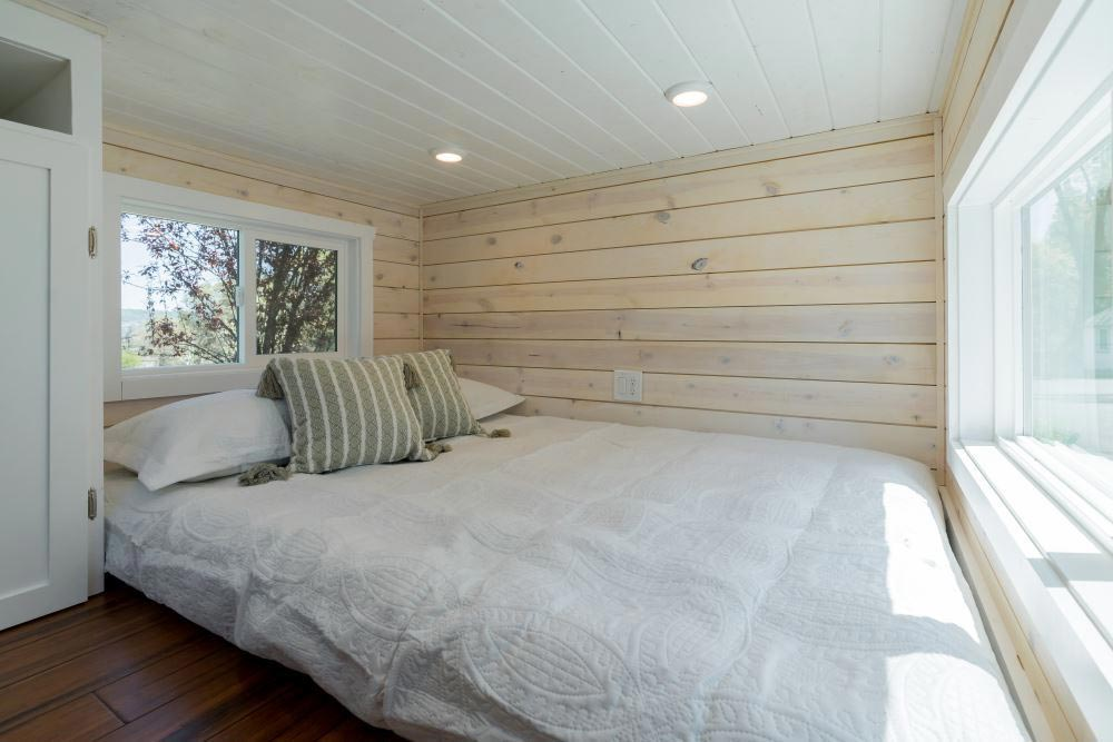 Main Floor Bedroom - Roomy Retreat 24' by Sierra Tiny Houses