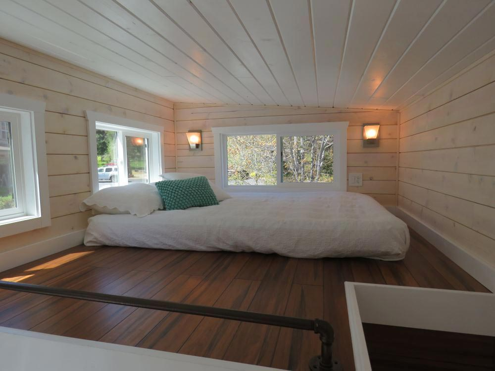 Guest Loft Bedroom - Roomy Retreat 24' by Sierra Tiny Houses