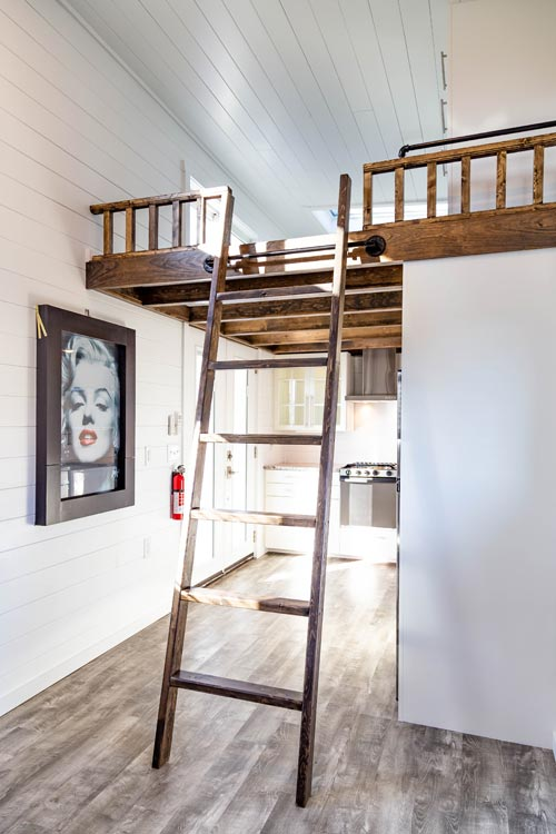 Loft Ladder - Modern Take Four by Liberation Tiny Homes