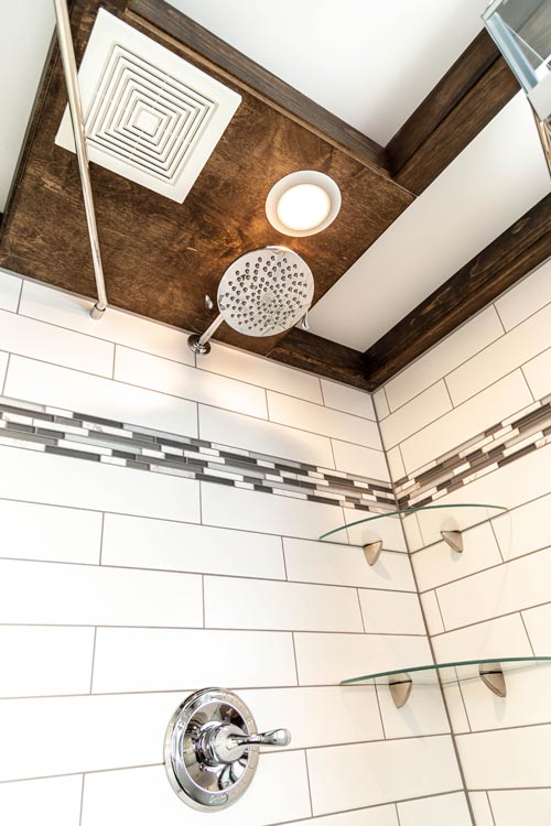 Tile Bathroom - Modern Take Four by Liberation Tiny Homes