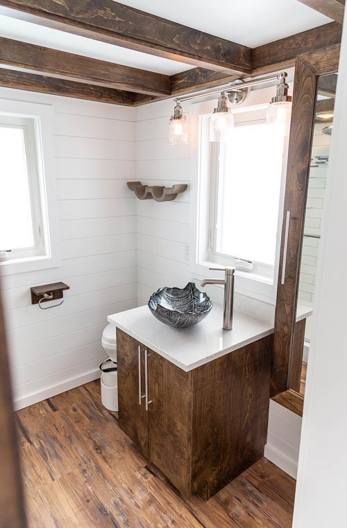 Bathroom Sink & Toilet - Modern Take Four by Liberation Tiny Homes