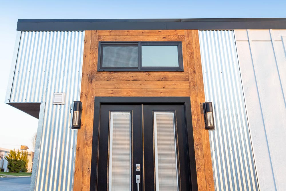 French Doors - Modern Take Four by Liberation Tiny Homes