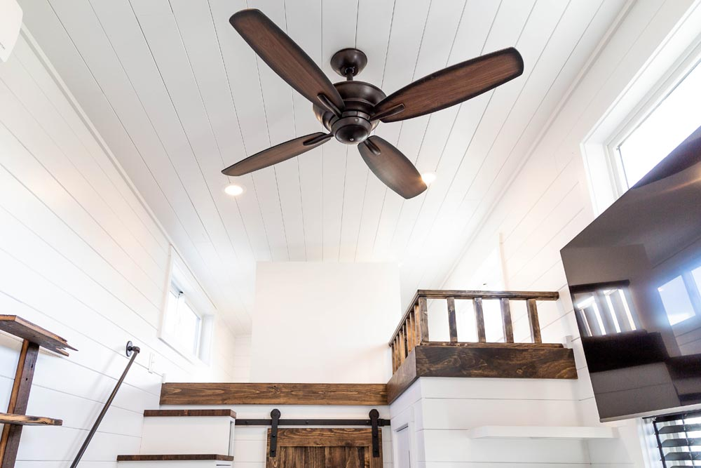 Ceiling Fan - Modern Take Four by Liberation Tiny Homes