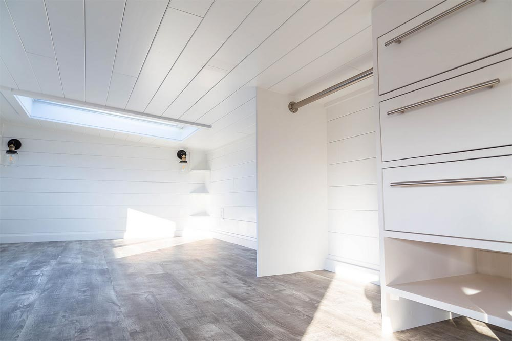 Loft Closet - Modern Take Four by Liberation Tiny Homes