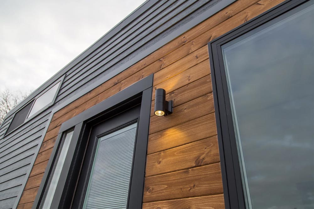 Wood Accent - Modern Take Three by Liberation Tiny Homes