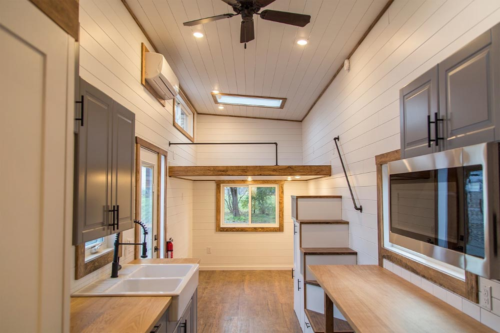 Interior View - Modern Take Three by Liberation Tiny Homes