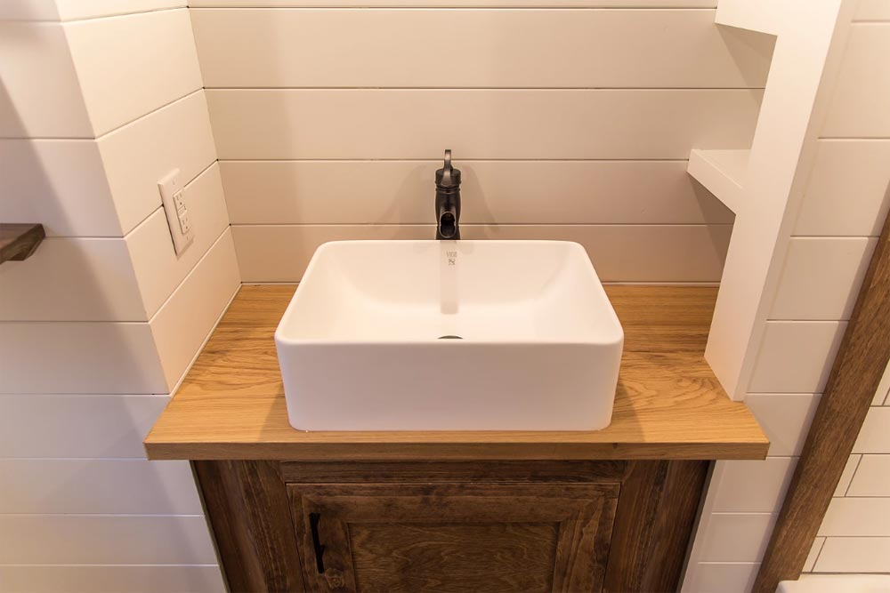 Bathroom Sink - Modern Take Three by Liberation Tiny Homes