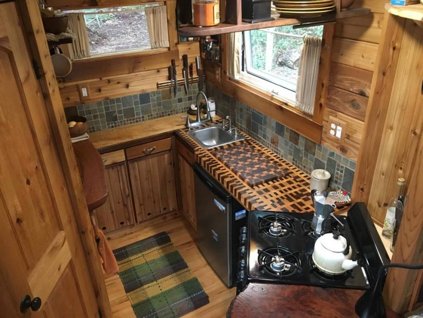 Unique Craftsmen Tiny House