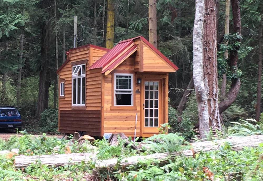 Airbnb Rental - Unique Craftsmen Tiny House