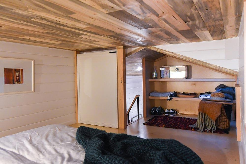 Loft Closet - Urban Kootenay 28' w/ XL Dormer by TruForm Tiny