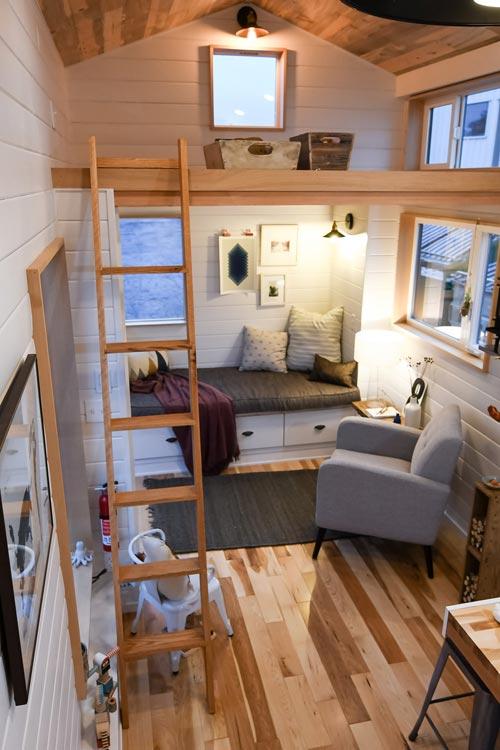 Loft Ladder - Urban Kootenay 28' w/ XL Dormer by TruForm Tiny