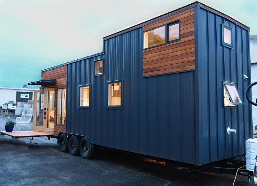 Exterior Siding - Urban Kootenay 28' w/ XL Dormer by TruForm Tiny