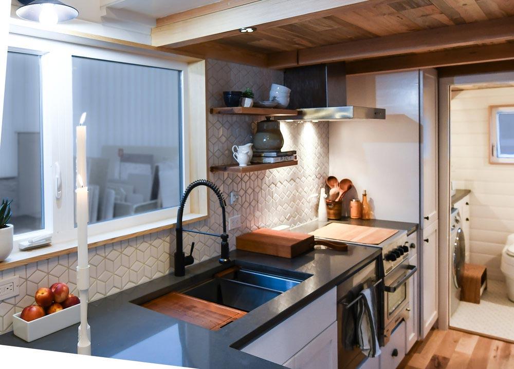 Kitchen - Urban Kootenay 28' w/ XL Dormer by TruForm Tiny
