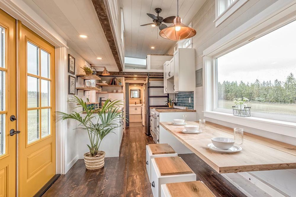 Fold Down Table - West Coast by Summit Tiny Homes