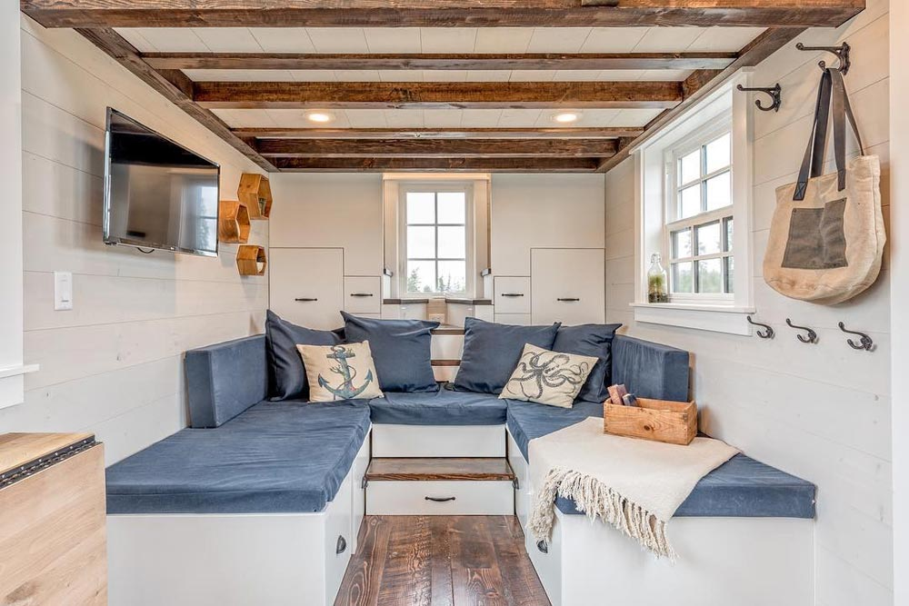 Multi-Use Couch - West Coast by Summit Tiny Homes