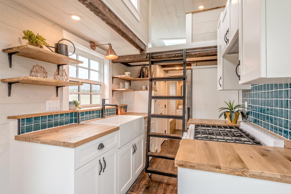 Galley Kitchen - West Coast by Summit Tiny Homes