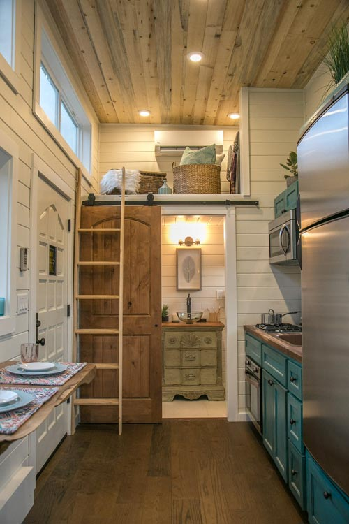 Tiny House Interior - Archway Tiny Home by Tiny Heirloom