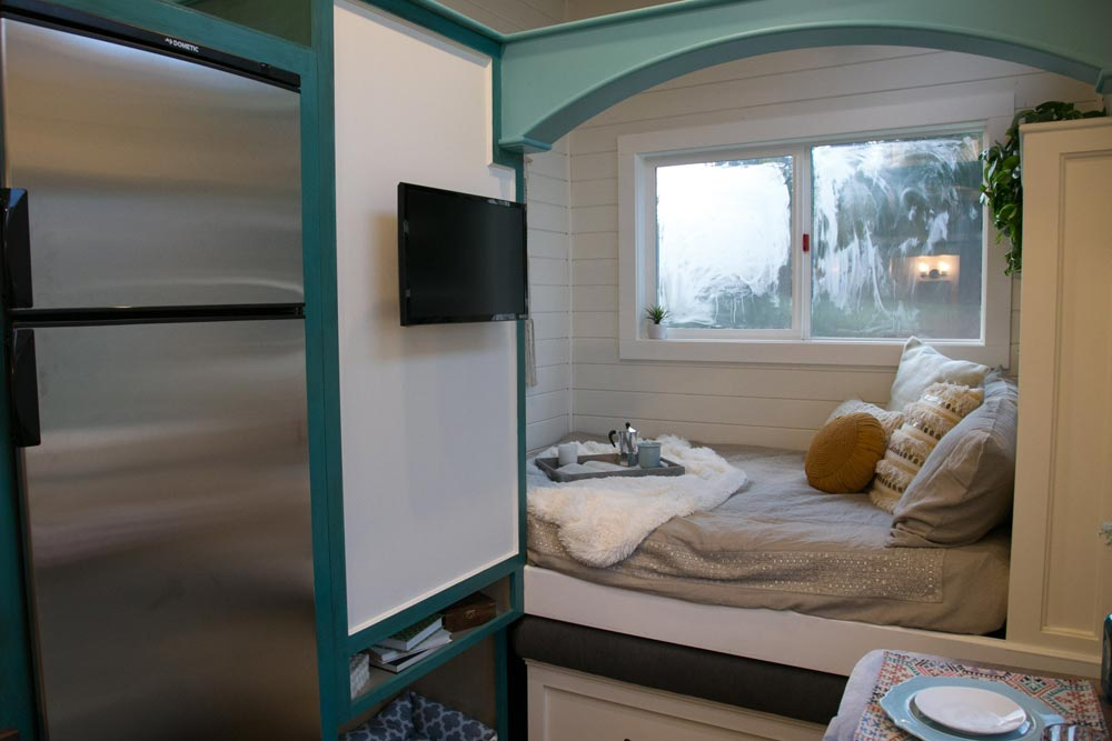 Main Floor Bedroom - Archway Tiny Home by Tiny Heirloom