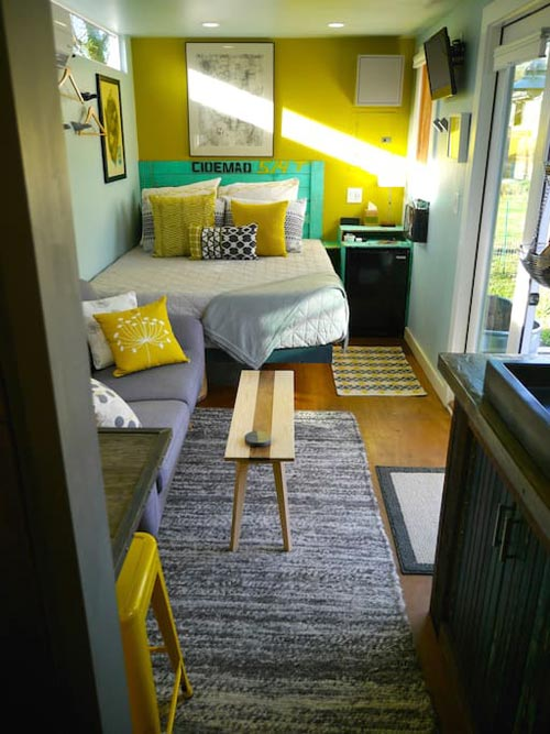 Interior View - ATL Eco Container Unit Two
