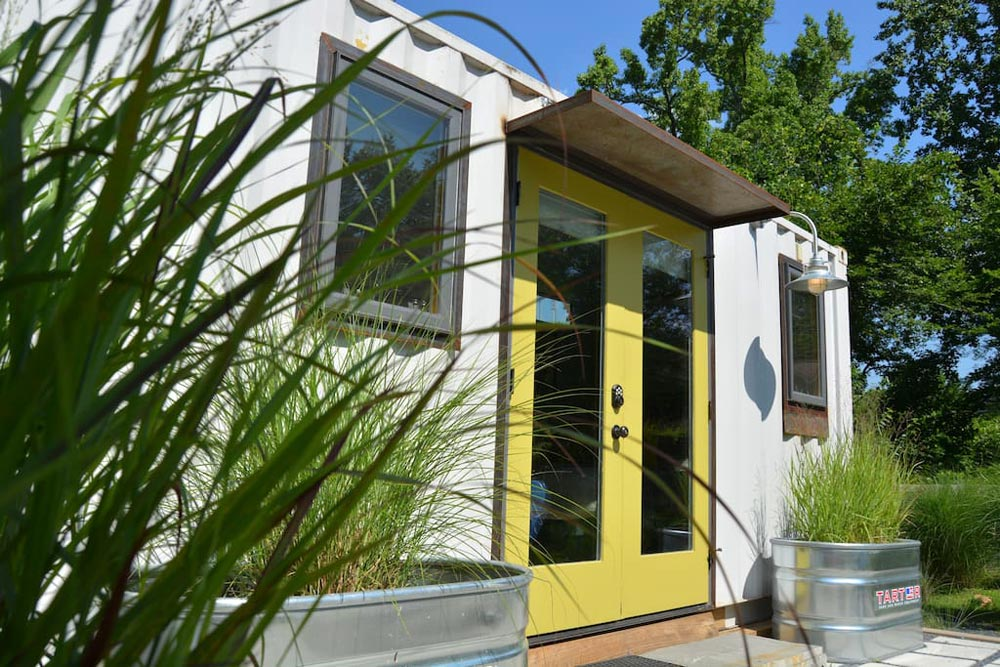 French Doors - ATL Eco Container Unit Two