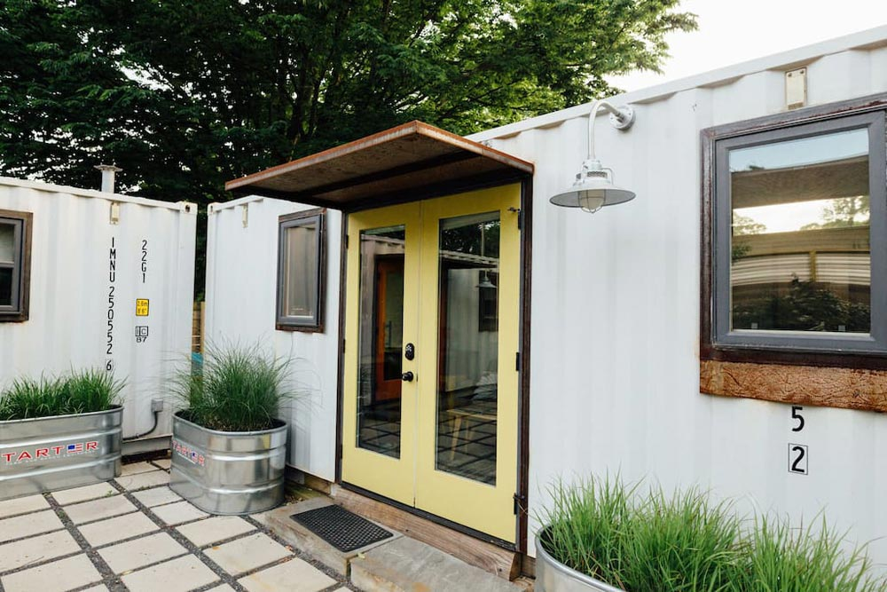Front Porch - ATL Eco Container Unit Two