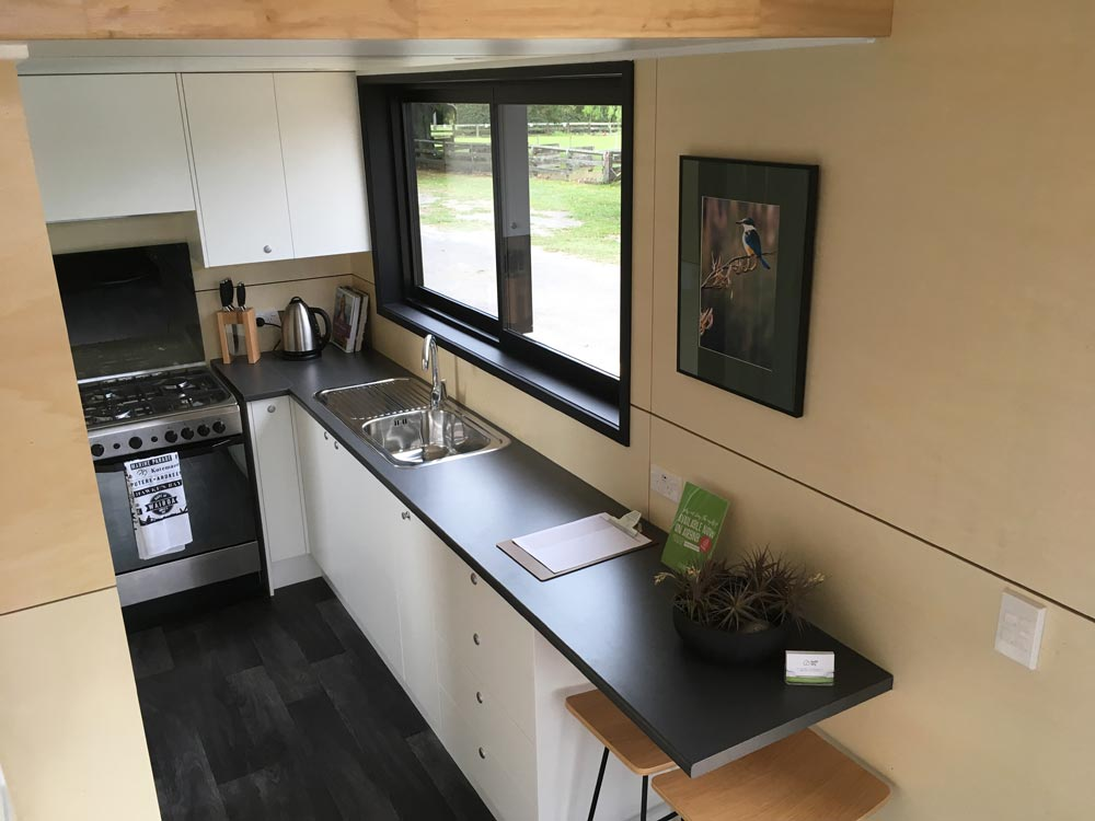 Kitchen - Boomer Tiny House by Build Tiny