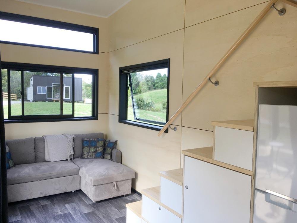 Great Room - Boomer Tiny House by Build Tiny