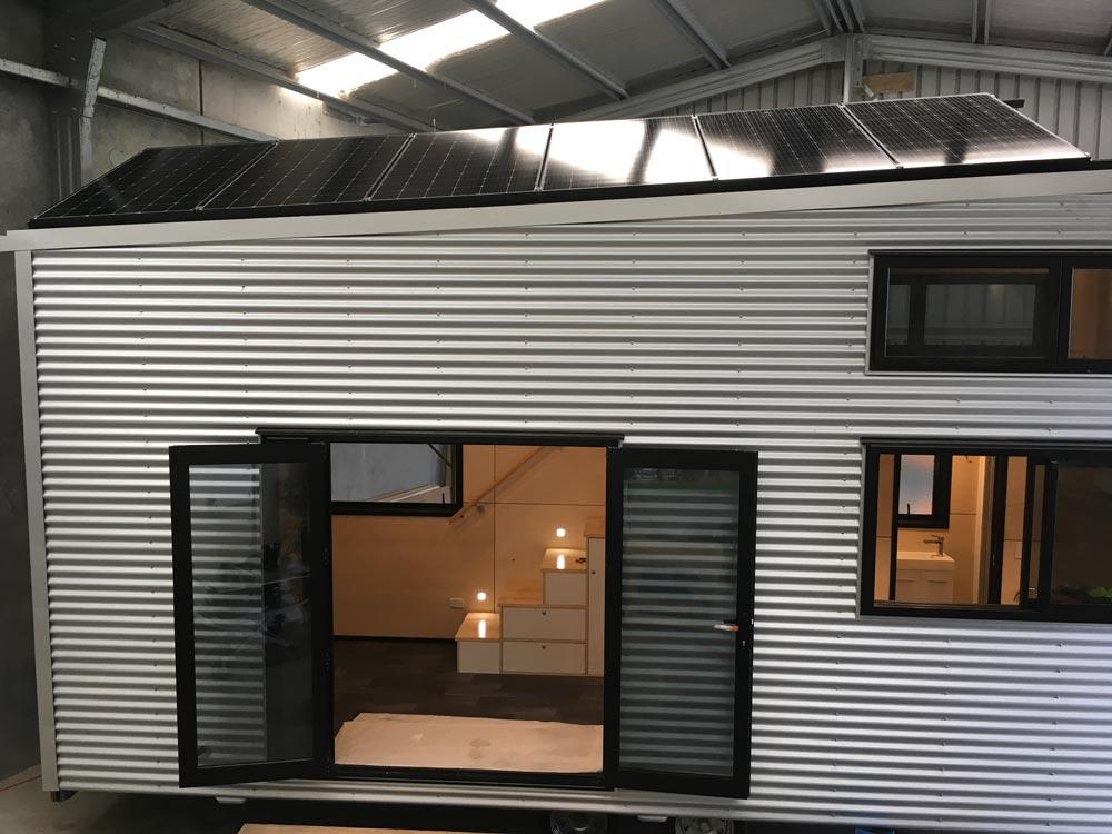 Solar Panels - Boomer Tiny House by Build Tiny