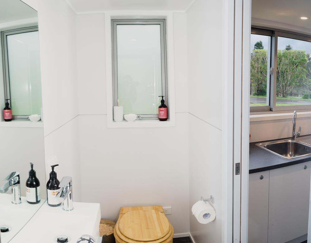 Bathroom - Buster Tiny House by Build Tiny