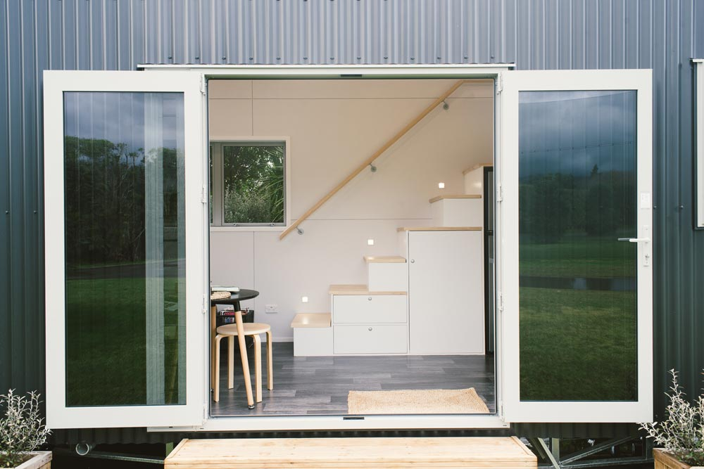 Entryway - Buster Tiny House by Build Tiny
