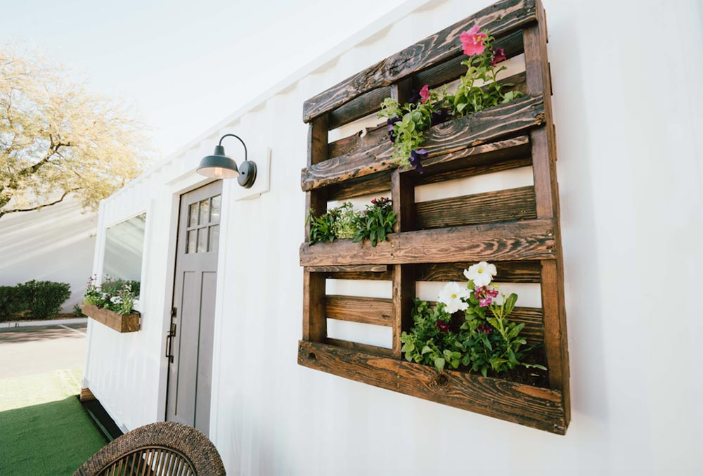 Reclaimed Wood Pallet - City by Alternative Living Spaces