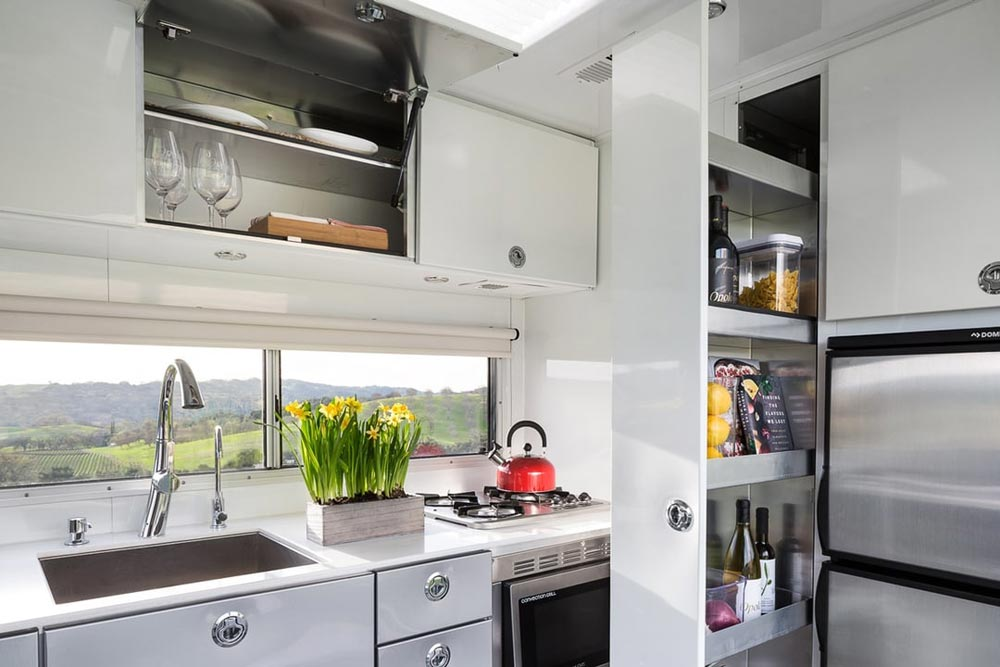 Kitchen Storage - Living Vehicle
