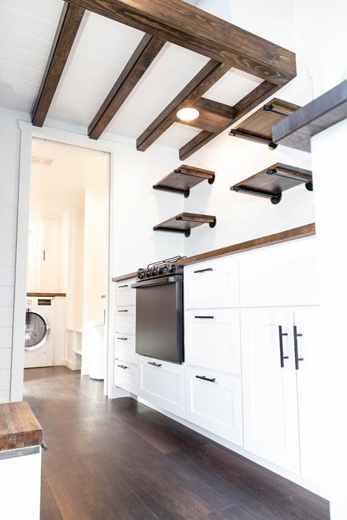 Box Beam Ceiling - Modern One by Liberation Tiny Homes