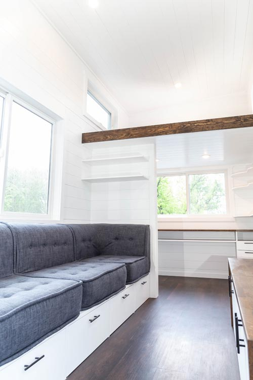 Living Room & Office - Modern One by Liberation Tiny Homes