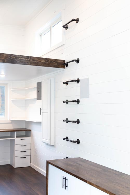 Loft Ladder - Modern One by Liberation Tiny Homes