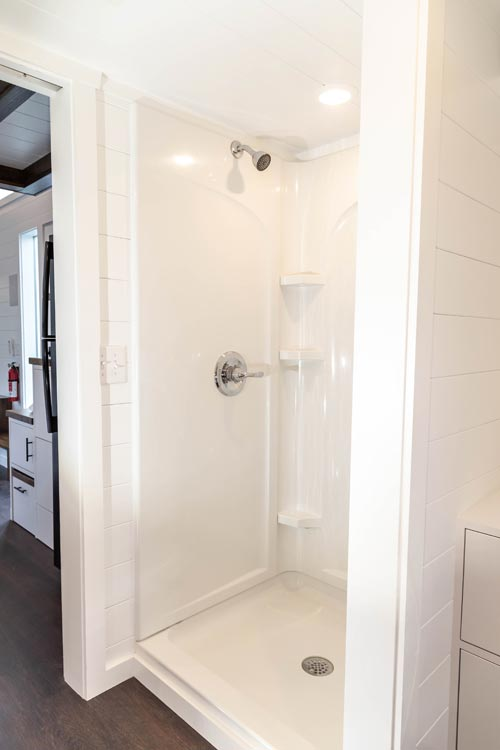Shower - Modern One by Liberation Tiny Homes