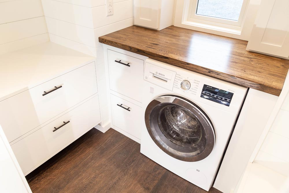 Laundry Area - Modern One by Liberation Tiny Homes