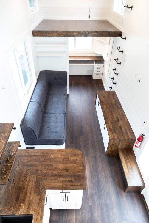 Living Area - Modern One by Liberation Tiny Homes