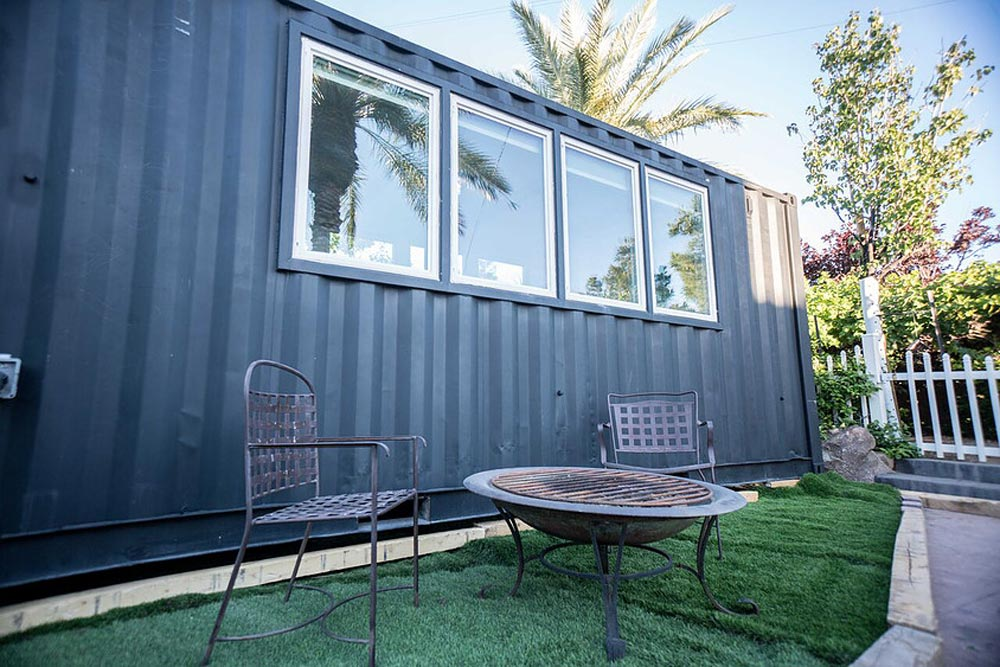 Black Exterior - SacTown by Alternative Living Spaces