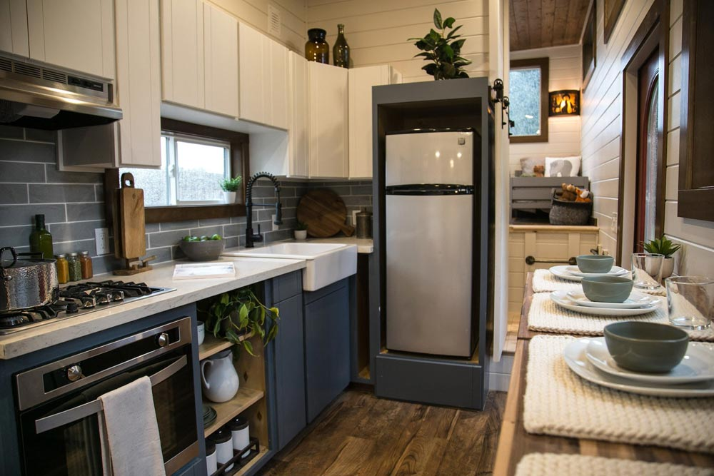 Full Size Appliances - Tiny Traveling Dream Home by Tiny Heirloom