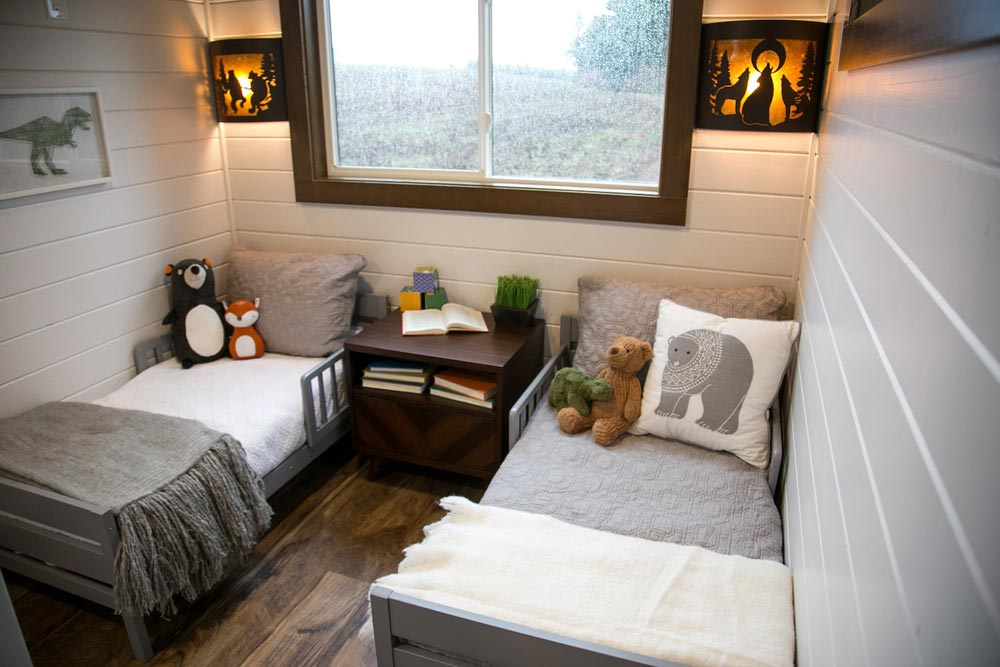 Kids' Bedroom - Tiny Traveling Dream Home by Tiny Heirloom