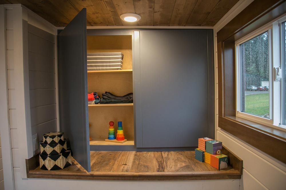 Kids' Storage - Tiny Traveling Dream Home by Tiny Heirloom