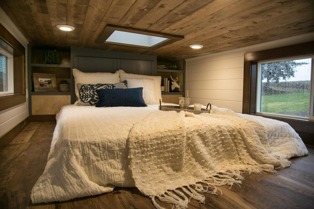 Bedroom Loft - Tiny Traveling Dream Home by Tiny Heirloom