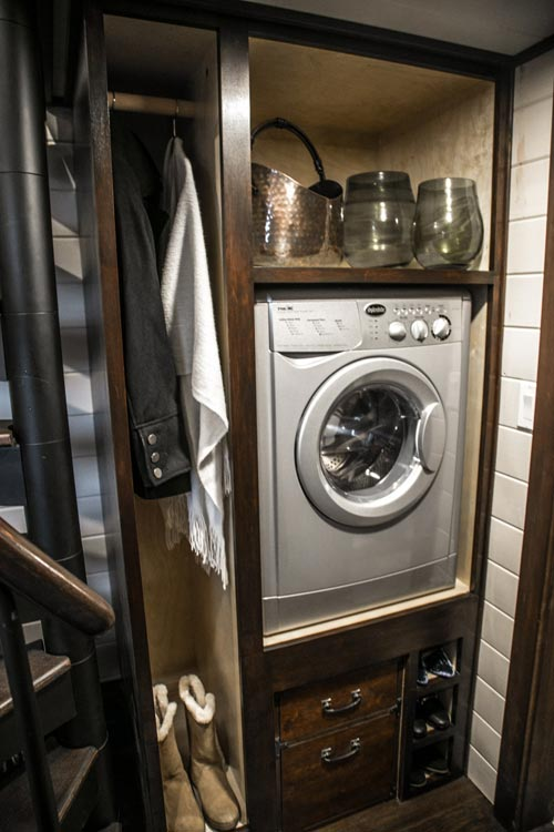 Washer/Dryer Combo - Tudor House by Tiny Heirloom