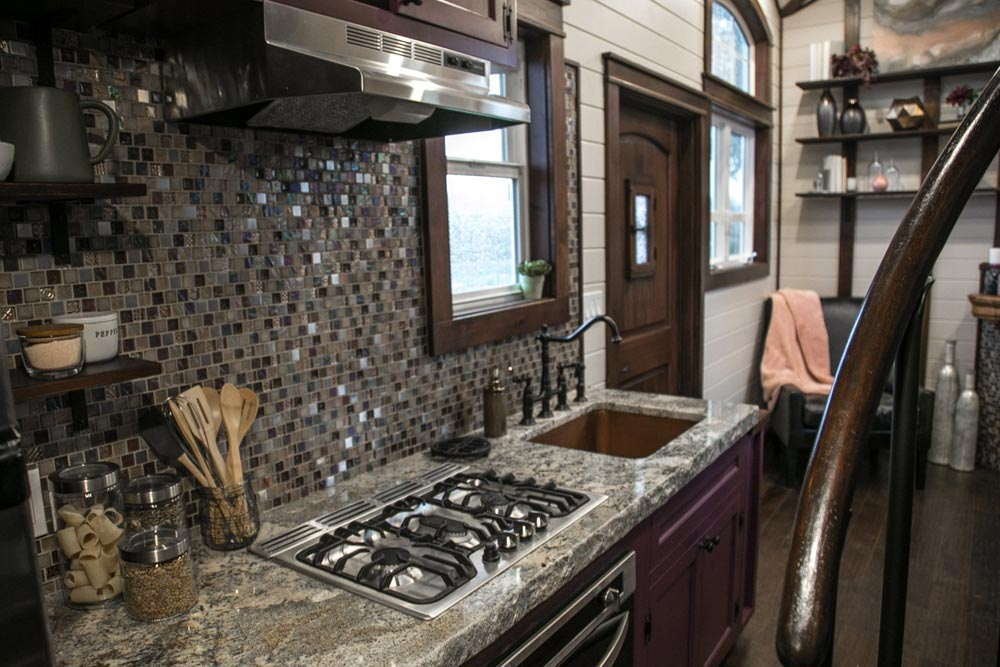Full Height Backsplash - Tudor House by Tiny Heirloom