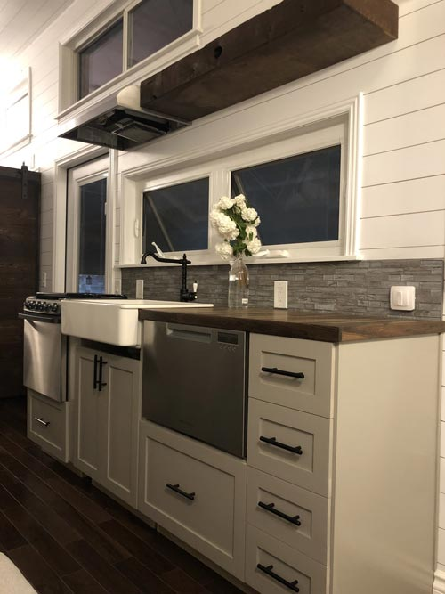 Dishwasher - White House by Sun Bear Tiny Homes