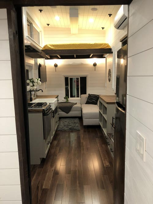 Interior View - White House by Sun Bear Tiny Homes