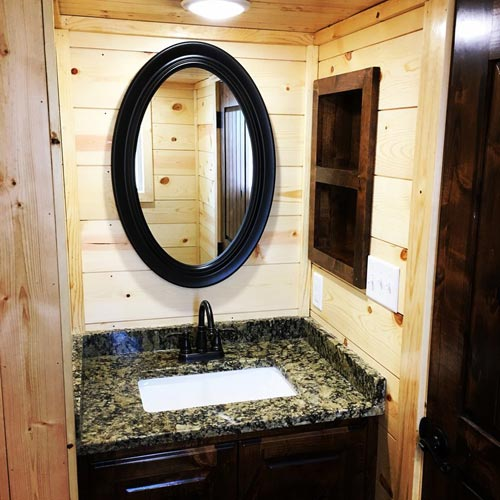Bathroom Vanity - New Beginning by Rafter B Tiny Homes