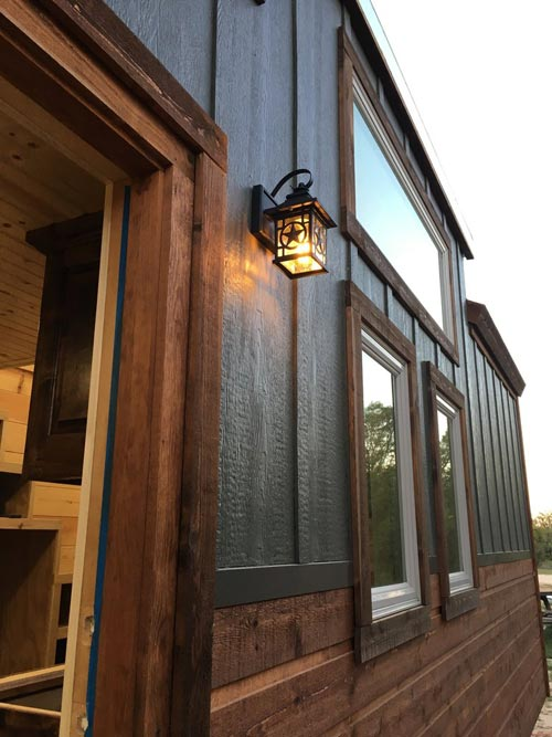 Exterior Detail - New Beginning by Rafter B Tiny Homes