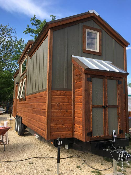 Exterior Storage - New Beginning by Rafter B Tiny Homes